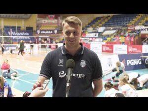 Read more about the article 1/2 MP Kadetek. Grzegorz Kowalczyk – trener Energa MKS SMS Kalisz
