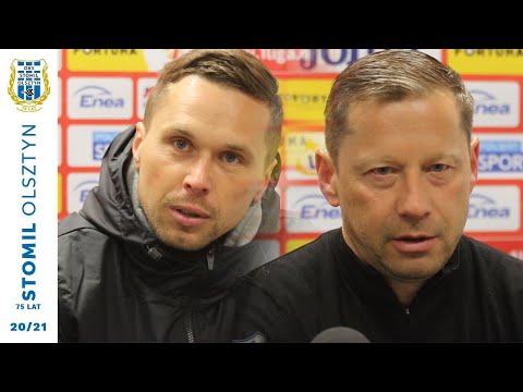 Konferencja po meczu Radomiak Radom – Stomil Olsztyn 1:0 (2.05.2021 r.)