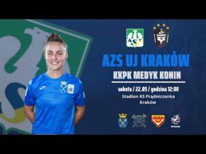 Ekstraliga AZS UJ Kraków – KKPK Medyk Konin