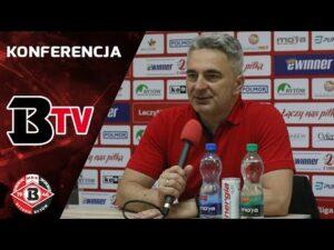 Read more about the article Konferencja prasowa po meczu Bytovia – Hutnik Kraków (1:1)