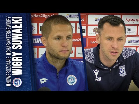 Read more about the article Konferencja | Wigry Suwałki 1:0 (0:0) Lech II Poznań