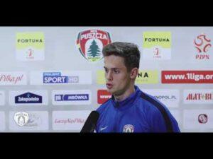 Mecz z Miedzią w ocenie Mateusza Górskiego | PUSZCZA TV