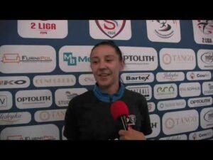 Read more about the article Marta Mika bezpośrednio po wygranym meczu z Bielawianką Bielawa | 16.05.2021