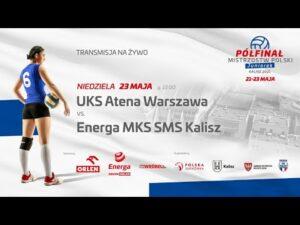 UKS Atena Warszawa – Energa MKS SMS Kalisz