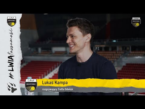 Read more about the article Lukas Kampa #gdańskimlwem w sezonie 2021/2022 | Trefl Gdańsk