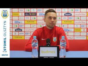 Piotr Klepczarek przed meczem z Puszczą Niepołomice (21.05.2021 r.)