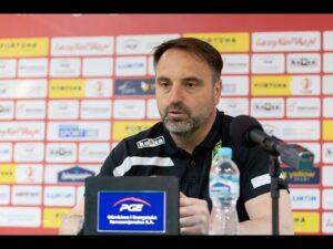 Konferencja prasowa po meczu GKS Bełchatów – Radomiak Radom