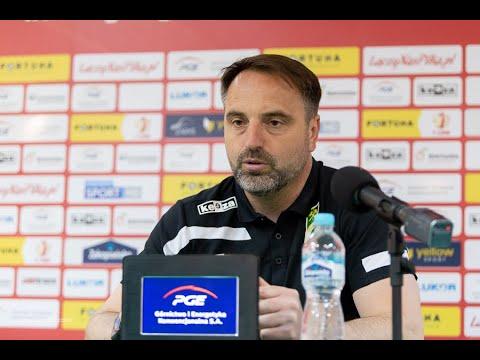 Read more about the article Konferencja prasowa po meczu GKS Bełchatów – Radomiak Radom