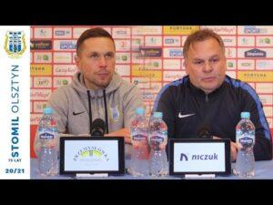 Read more about the article Konferencja po meczu Stomil Olsztyn – Puszcza Niepołomice 2:1 (22.05.2021 r.)
