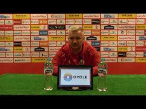 Read more about the article Konferencja prasowa po meczu z Miedzią Legnica