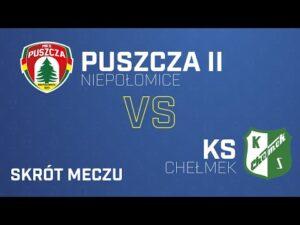 Read more about the article [Skrót] Puszcza II Niepołomice – KS Chełmek 1-2 | PUSZCZA TV