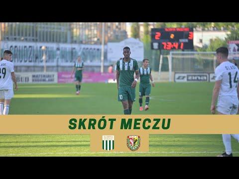 Read more about the article Skrót meczu: Olimpia Grudziądz – Śląsk II Wrocław