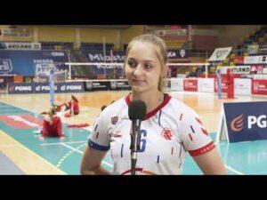 Read more about the article 1/2 MP Juniorek. Marlena Skórnóg (LTS Legionovia Legionowo) – MVP 5 meczu