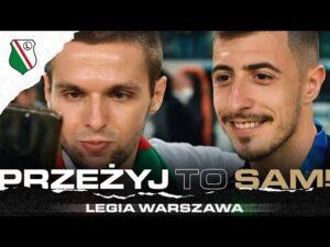 Read more about the article PRZEŻYJ TO SAM! Wspólne świętowanie mistrzostwa z Legią!