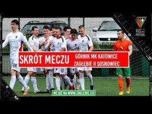 Read more about the article Górnik MK Katowice – Zagłębie II Sosnowiec 1:7   Skrót meczu