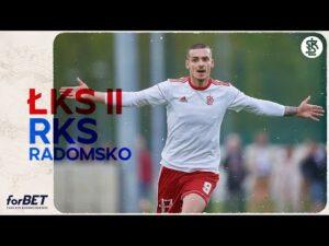 Read more about the article ŁKS II Łódź – RKS Radomsko 1:0 | Cały mecz