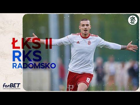 ŁKS II Łódź – RKS Radomsko 1:0 | Cały mecz