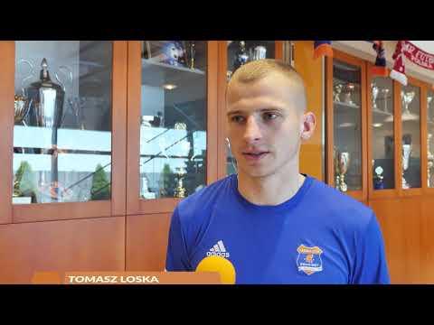 Tomasz Loska przed meczem z Odrą