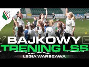 Read more about the article LEGIA, UEFA I DISNEY ŁĄCZĄ SIŁY! Specjalny trening młodych legionistek