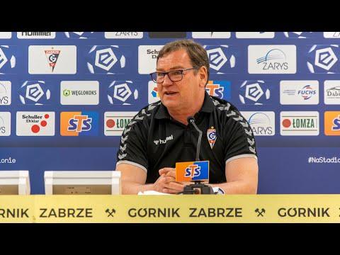 Konferencja: Jan Urban trenerem Górnika Zabrze!