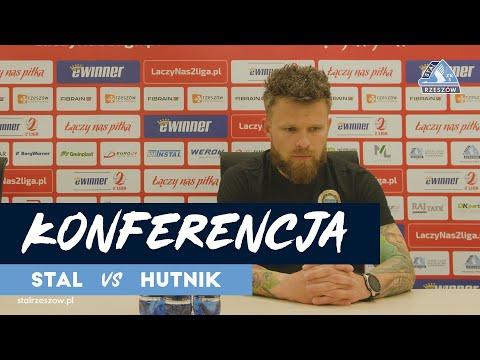 Konferencja prasowa po meczu Stal Rzeszów – Hutnik Kraków (28.05.2021)