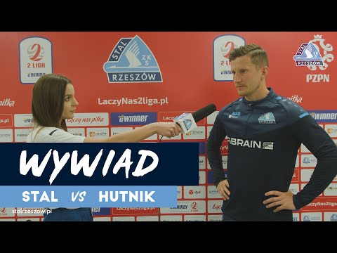 Wypowiedź Piotra Głowackiego po meczu z Hutnikiem Kraków (28.05.2021)