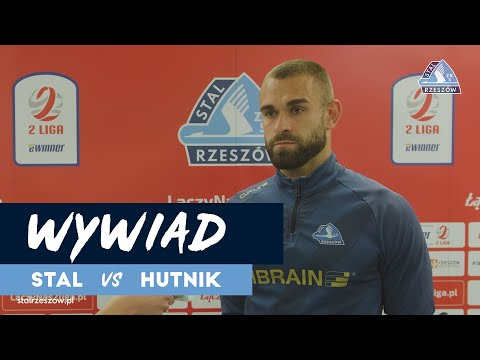 Wypowiedź Damiana Kostkowskiego po meczu z Hutnikiem Kraków (28.05.2021)