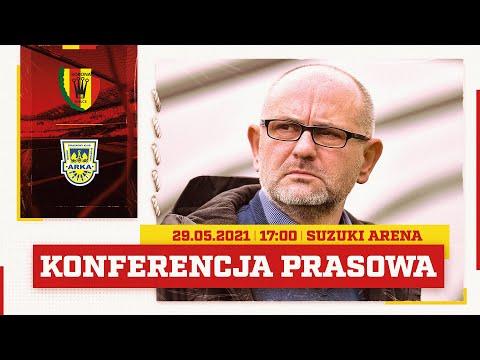 Konferencja prasowa po meczu Korona Kielce – Arka Gdynia