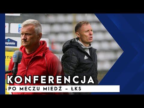 [MIEDŹ TV] Konferencja prasowa po meczu Miedź   ŁKS