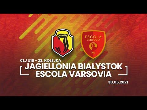 CLJ U18. Jagiellonia Białystok – Escola Varsovia