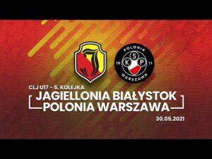 Read more about the article CLJ U17. Jagiellonia Białystok – Polonia Warszawa