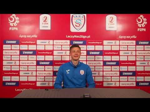 Lucjan Klisiewicz po meczu z Błękitnymi Stargard | 29.05.2021