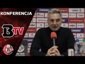 Konferencja prasowa po meczu Bytovia – Lech II Poznań (1:2)