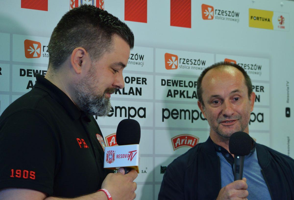 Zdjęcia z meczu Apklan Resovia – Chrobry Głogów