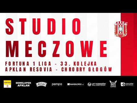 STUDIO MECZOWE 🎥⚪🔴 Apklan Resovia – Chrobry Głogów