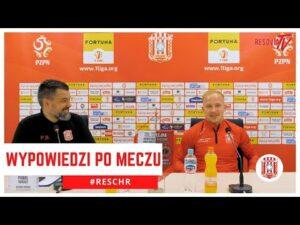 Read more about the article WYPOWIEDZI PO MECZU Z CHROBRYM | JOSIP SOLJIĆ, BARTOSZ JAROCH, BARTŁOMIEJ WASILUK