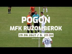 Read more about the article Opalenica 2021: Pogoń Szczecin –  MFK Ružomberok  0:1 (SKRÓT)