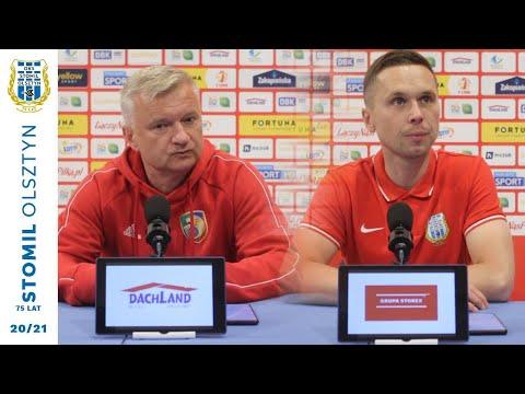Konferencja po meczu Stomil Olsztyn – Miedź Legnica 1:1 (5.06.2021 r.)