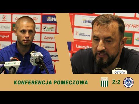 Read more about the article Olimpia Grudziądz – Wigry Suwałki [KONFERENCJA]