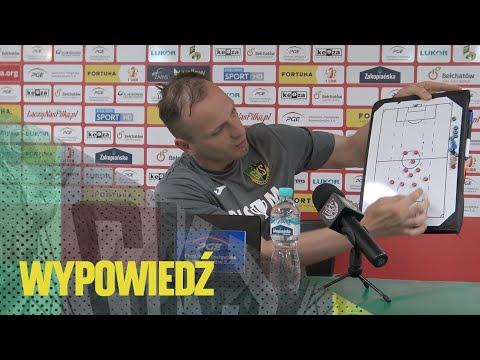 [GKS TV] Wypowiedź Łukasza Włodarka po meczu z Bełchatowem