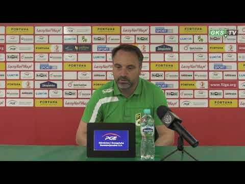 Konferencja prasowa po meczu GKS Bełchatów – GKS Jastrzębie