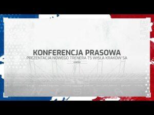Read more about the article Konferencja prasowa. Prezentacja nowego trenera WIsły Kraków