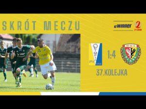 Read more about the article SKRÓT: Olimpia Elbląg 1:4 Śląsk II Wrocław | 37. kolejka, eWinner 2. Liga