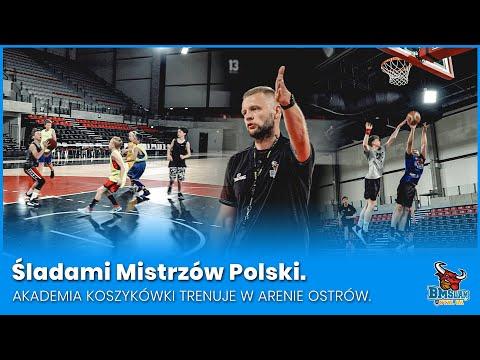 Śladami Mistrzów Polski. Akademia Koszykówki trenuje w Arenie Ostrów.