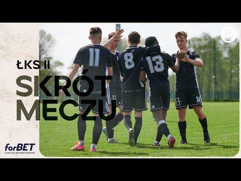 Stal Głowno – ŁKS II Łódź 0:3 | SKRÓT MECZU