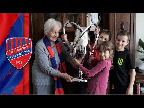 Z wizytą z Pucharem u Pani Ireny i jej prawnuczków!