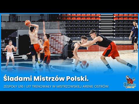 Śladami Mistrzów Polski. Zespoły U16 i U17 trenowały w mistrzowskiej Arenie Ostrów.
