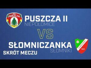 Read more about the article [Skrót] Puszcza II Niepołomice – Słomniczanka Słomniki 1-1 | PUSZCZA TV