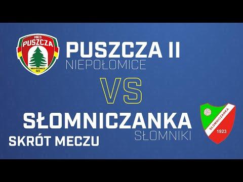 [Skrót] Puszcza II Niepołomice – Słomniczanka Słomniki 1-1 | PUSZCZA TV