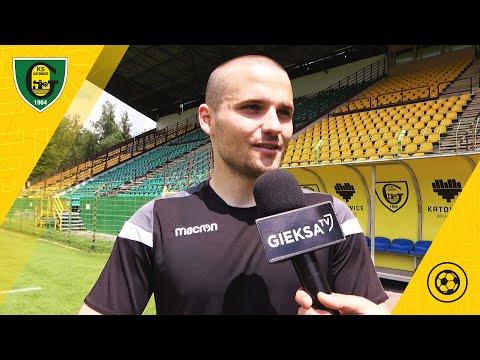 Adrian Błąd przed meczem z Sokołem Ostróda (11.06.2021)